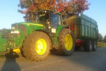 Landtechnische Lohnarbeiten